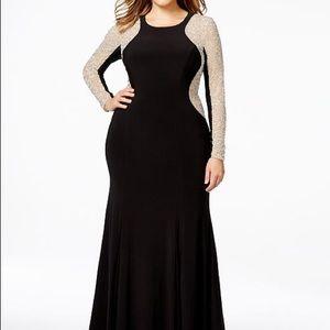 a98c955c1a0 Xscape Dresses - Illusion Hourglass Gown